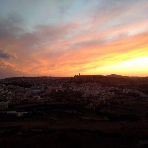 Cittadella View from Tas-Sellum