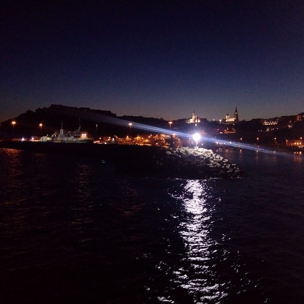 Mgarr night view