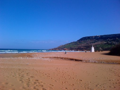 Winter in Ramla Bay