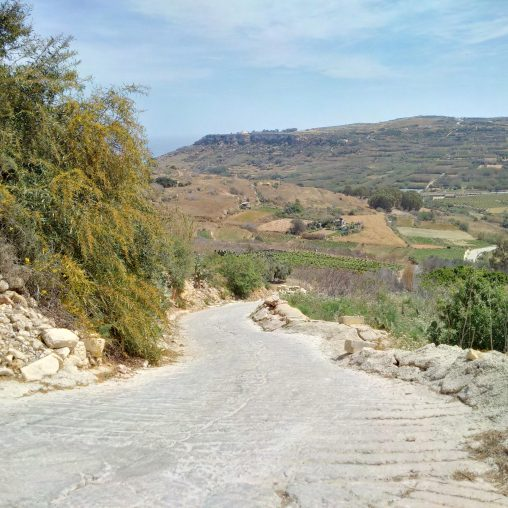 Xaghra to Ramla Valley