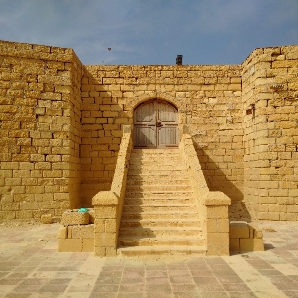 Il-Qolla l-Bajda Battery front