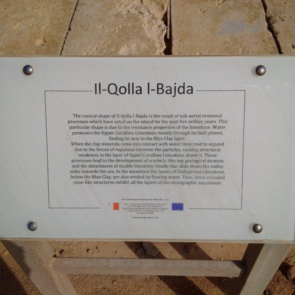 Il-Qolla l-Bajda Info Board