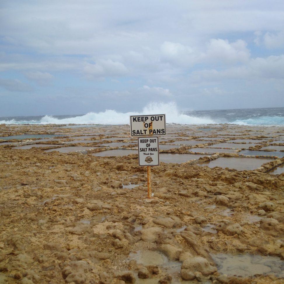 Keep out of salt pans