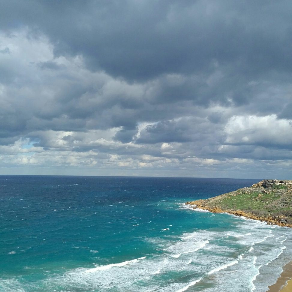 The Sky Over Ramla Bay